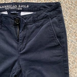 American Eagle Outfitters Pants & Jumpsuits - American Eagle Super Stretch Skinny Pant | Navy
